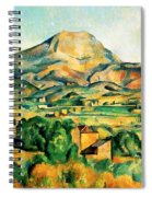 Mont Sainte Victoire Seen From Bellevue Painting By Paul Cezanne
