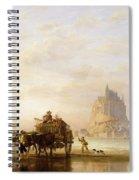 Mont St Michel Spiral Notebook
