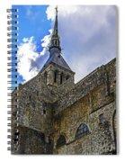 Mont St Michel Tower Spiral Notebook