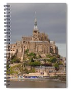 Mont St Michel Spiral Notebook