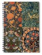 Montage Of Morris Designs Spiral Notebook