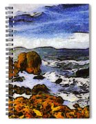 Montana Da Oro San Luis Obispo State Park Spiral Notebook