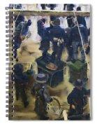 Montana Justice   January 14 1864 Spiral Notebook