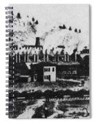 Montana Smelting, 1880s Spiral Notebook