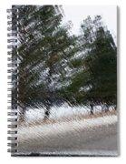 Montana Weather Report Spiral Notebook