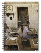 Montana's Oldest Standing Schoolhouse Spiral Notebook