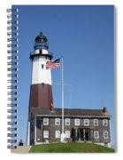 Montauk Lighthouse Spiral Notebook