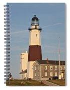 Montauk Point Lighthouse Spiral Notebook