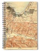 Monterey And Carmel Valley  Monterey Peninsula California  1912 Spiral Notebook