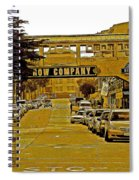 Monterey Cannery Row Company Spiral Notebook