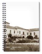 Monterey  Hospital At 576 Hartnell Street Circa 1939 Spiral Notebook