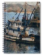 Monterey Fish Company Abstract Spiral Notebook
