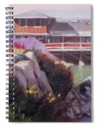 Monterey Fisherman's Wharf Spiral Notebook