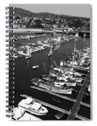 Monterey Marina With Fishing Boats In Slips Sept. 4 1961  Spiral Notebook