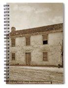 Monterey Whaling Station Circa 1895 Spiral Notebook