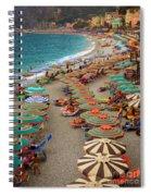 Monterosso Beach Spiral Notebook