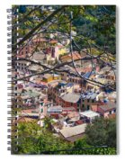 Monterosso From Above - Cinque Terre Spiral Notebook