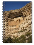 Montezuma Castle National Monument Az Dsc09056 Spiral Notebook