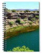 Montezuma Well  Spiral Notebook