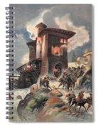 Montlue Seizes The Moulins Dauriol Spiral Notebook