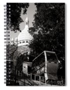 Montmartre Funicular  Spiral Notebook