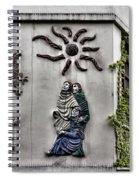 Montmartre Wall Art  Spiral Notebook