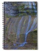 Montour Falls Fall Panorama Spiral Notebook