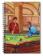 Montreal Pool Room Spiral Notebook