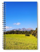 Montserrat Mountain Spiral Notebook