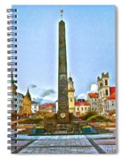Monument In B.bystrica Spiral Notebook
