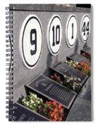 Monument Park -  Yankee Stadium Spiral Notebook