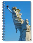 Monument To The Immigrants Statue 1 Spiral Notebook