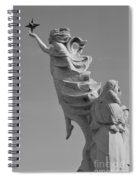 Monument To The Immigrants Statue 3 Spiral Notebook