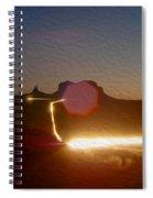 Monument Valley 3 Spiral Notebook