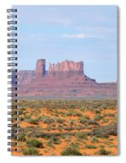 Monument Valley Area Spiral Notebook