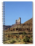 Monument Valley Arizona State Usa Spiral Notebook