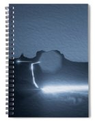 Monument Valley At Night 2 Spiral Notebook