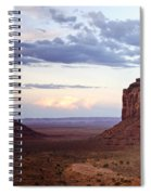 Monument Valley At Sunset Spiral Notebook