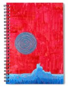 Monument Valley Original Painting Spiral Notebook