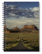 Monument Valley Panorama Spiral Notebook