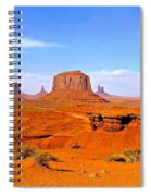 Monument Valley - Panorama Spiral Notebook