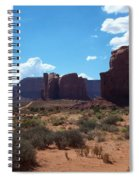 Monument Valley Scenic View Spiral Notebook