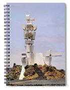 Monumento Al Campesino On Lanzarote Spiral Notebook