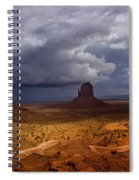 Monuments Of The West Spiral Notebook