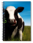 Moo... Spiral Notebook