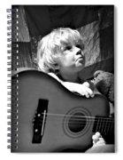 Mood Strings Spiral Notebook