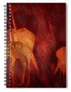 Moods Of Africa - Gazelle Spiral Notebook
