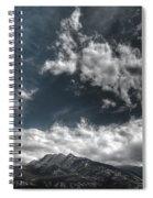 Moody Blue Spiral Notebook