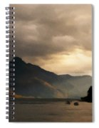 Moody Lake Spiral Notebook