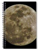 Moody Moon Spiral Notebook
